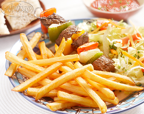 Selection Kebab Fries 9/9 mm